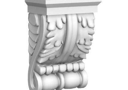 欧式雕花柱头