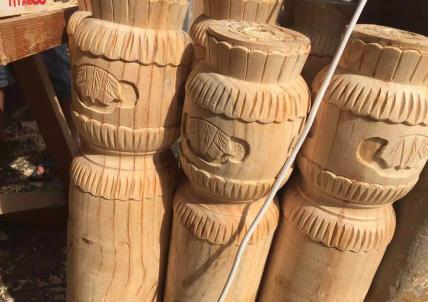 精品仿古木雕