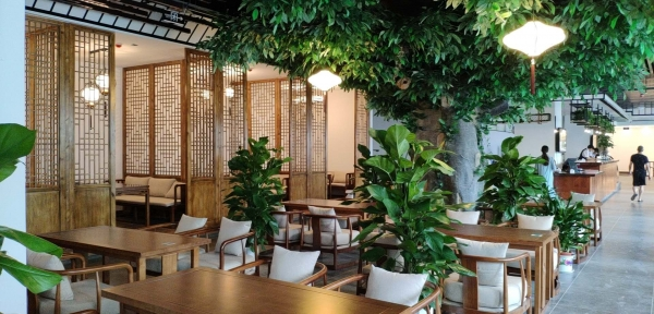 南岸新中式茶楼装修